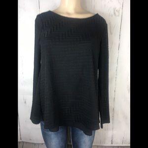 The limited black tunic blouse medium
